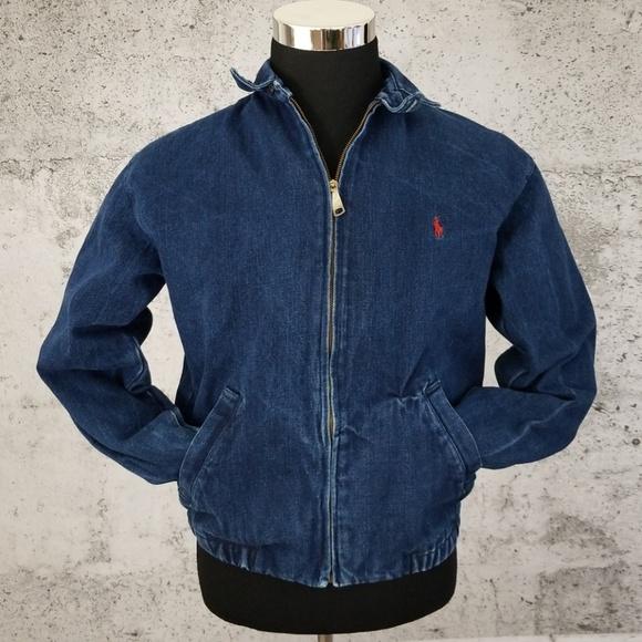 POLO RALPH LAUREN Vintage Denim Jacket 90 s. M 5c4629c4aa87703e7f43b50b 080e8196626ce